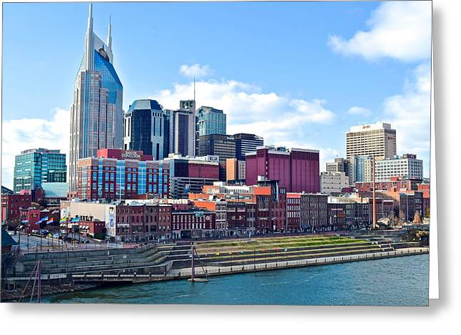 Nashville Blues Greeting Card by Frozen in Time Fine Art Photography