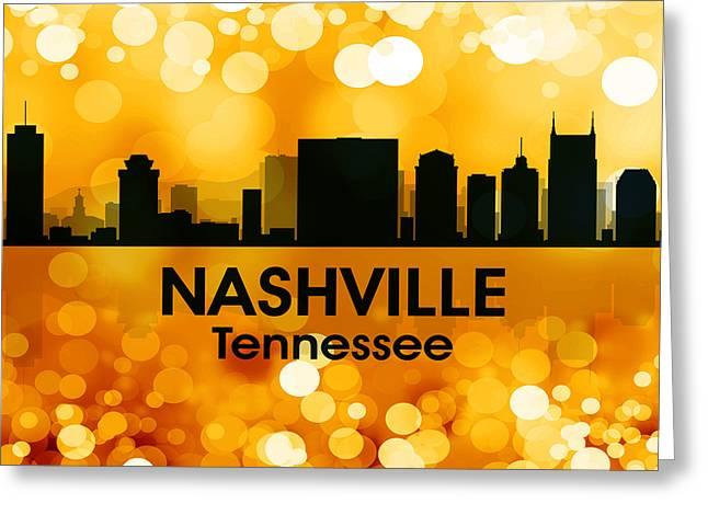 Nashville Tn 3 Greeting Card by Angelina Vick