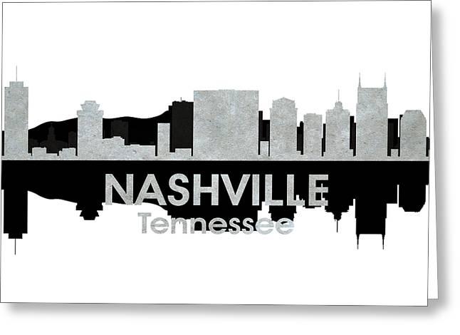 Nashville Tn 4 Greeting Card by Angelina Vick