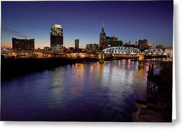 Nashville's River Greeting Card