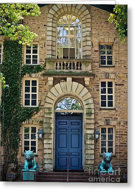 Nassau Hall - Princeton University Greeting Card by Colleen Kammerer