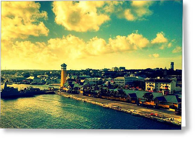 Nassau The Bahamas Greeting Card