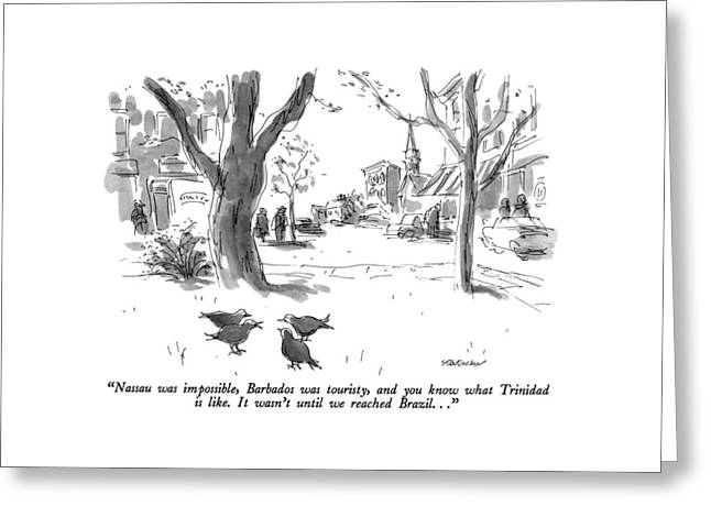 Nassau Was Impossible Greeting Card