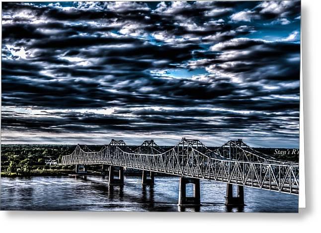 Natchez Bridge Greeting Card
