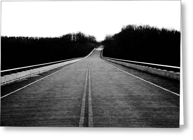 Natchez Trace Parkway  Greeting Card by Krista Sidwell