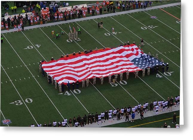 National Anthem Greeting Card