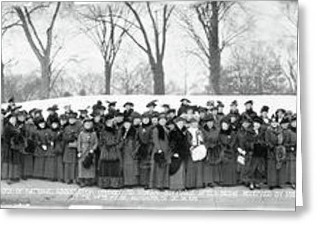 National Association Opposed To Woman Greeting Card