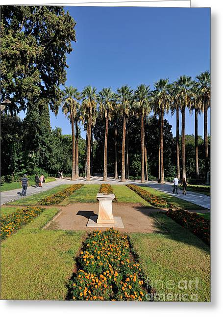 National Garden In Athens Greeting Card