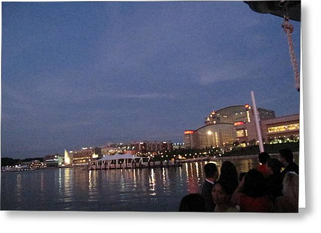 National Harbor - 121223 Greeting Card by DC Photographer