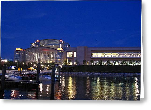 National Harbor - 121227 Greeting Card by DC Photographer