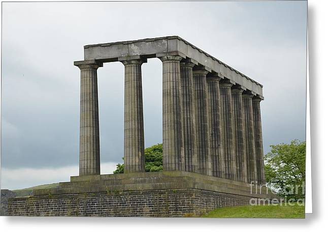 National Monument Of Scotland Greeting Card