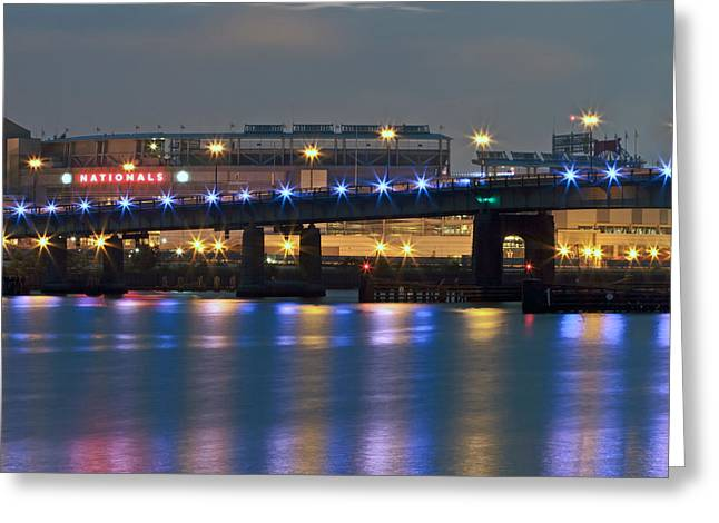 Greeting Card featuring the photograph Nationals Park by Jerry Gammon