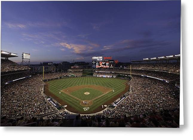 Nationals Park Washington D.c. Greeting Card