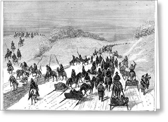 Native American Surrender Greeting Card