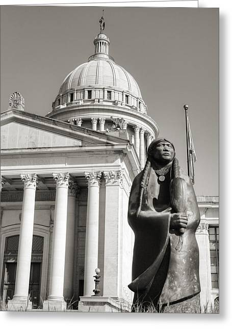 Native Capitol Greeting Card
