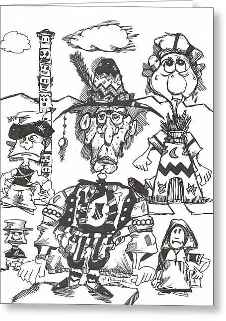 Natives Greeting Card