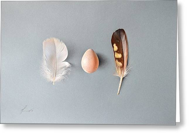 Natural Beauty Greeting Card by Elena Kolotusha