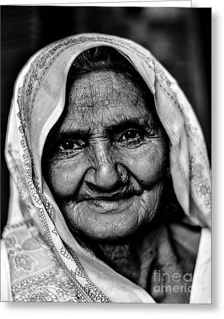 Natural Beauty Greeting Card by Gautam Gupta