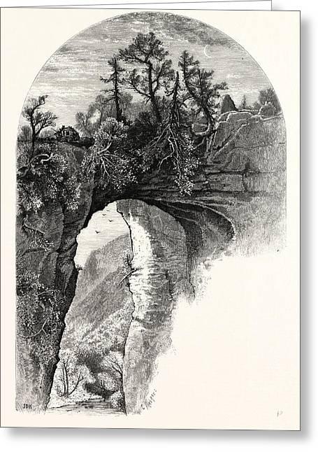 Natural Bridge, Virginia Greeting Card
