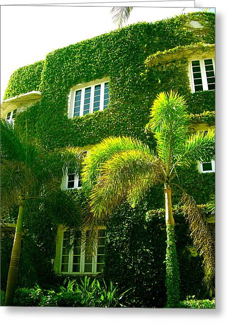 Natural Ivy House Greeting Card