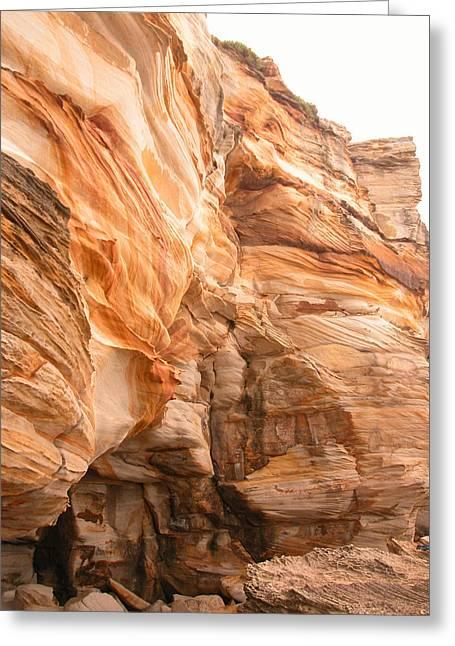 Natural Rock Greeting Card