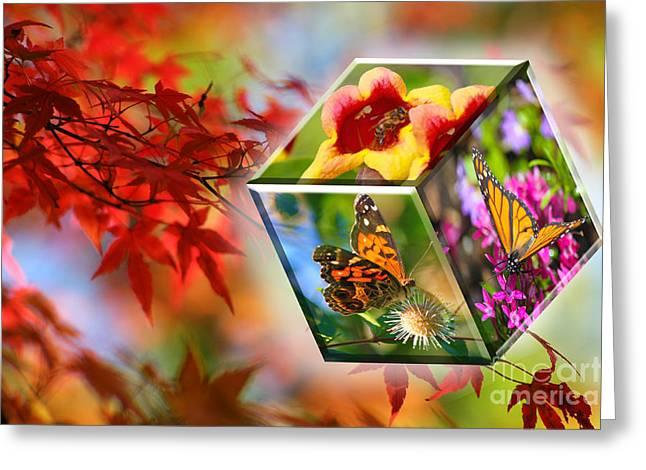 Natural Vibrance Greeting Card