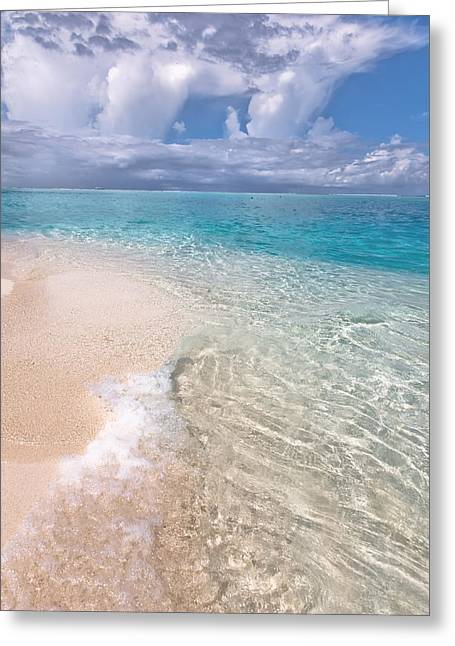 Natural Wonder. Maldives Greeting Card