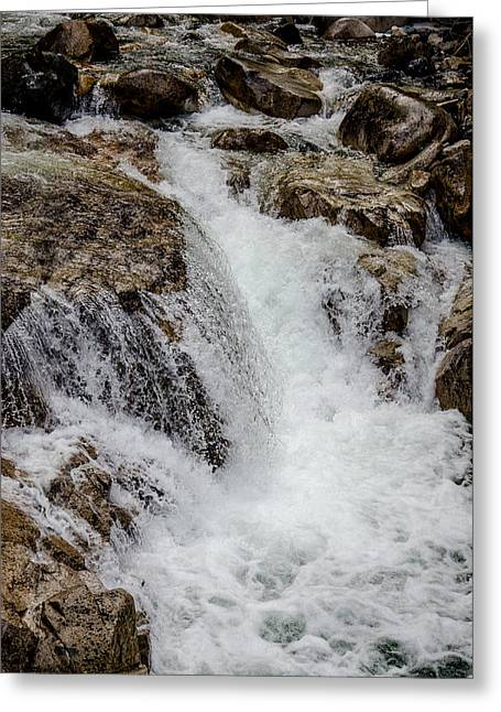 Naturally Pure Waterfall Greeting Card