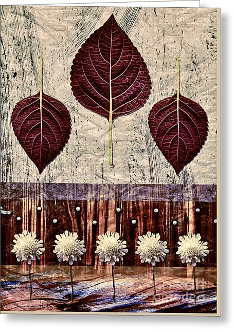 Nature Canvas - 01m4 Greeting Card