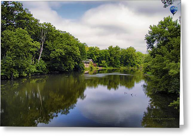 Nature Center On Salt Creek Greeting Card by Thomas Woolworth