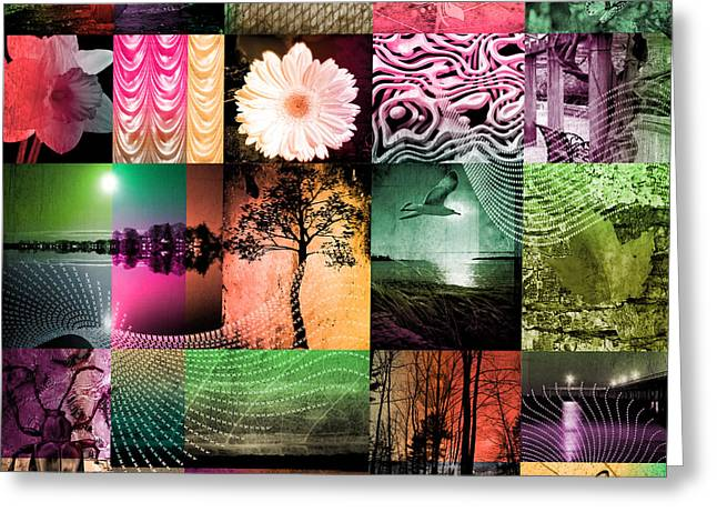 Nature In Light Colors  Greeting Card