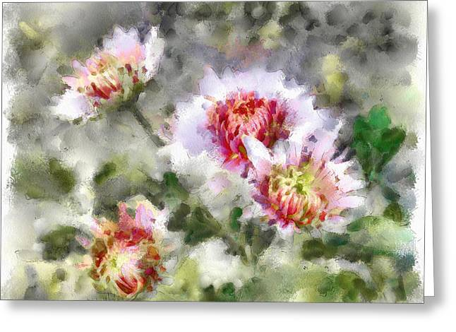 Nature Flowers Greeting Card by Yury Malkov