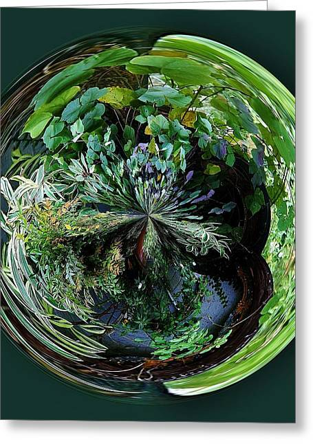 Nature Orb Greeting Card by Paulette Thomas