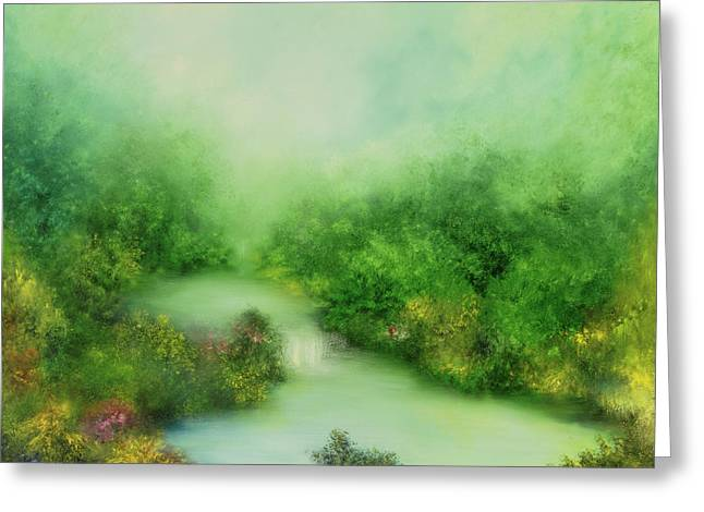 Nature Symphony Greeting Card by Hannibal Mane