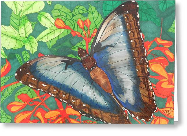Natures Beauty Greeting Card by Willie McNeal