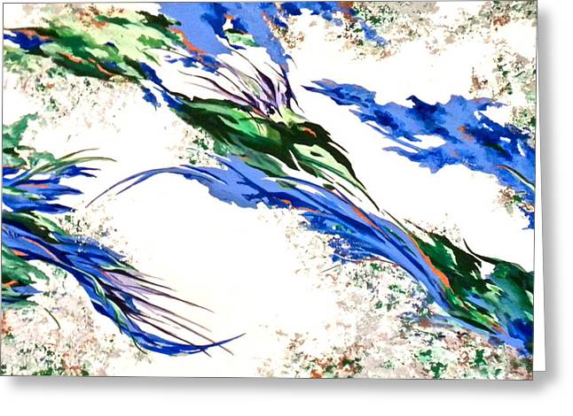 Nature's Essence Greeting Card by Jan Law