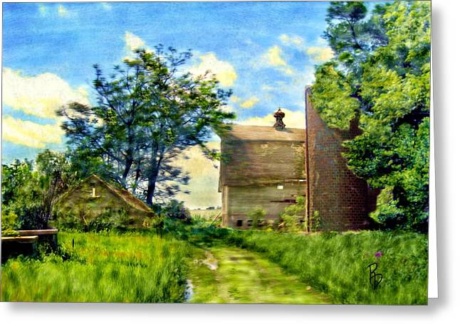 Nature's Farm Reclamation Project Greeting Card