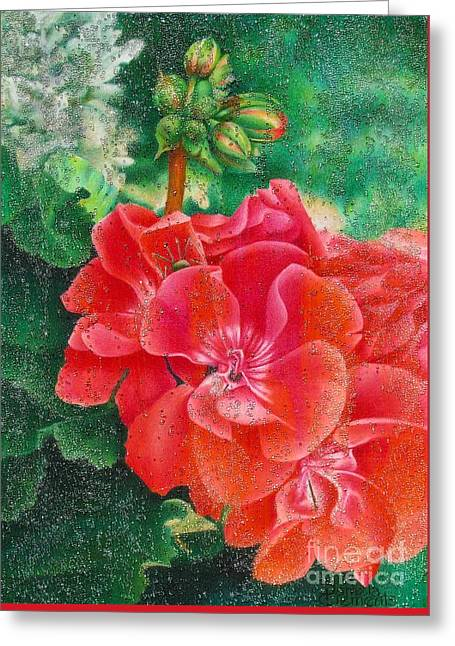 Nature's Jewels Greeting Card by Pamela Clements