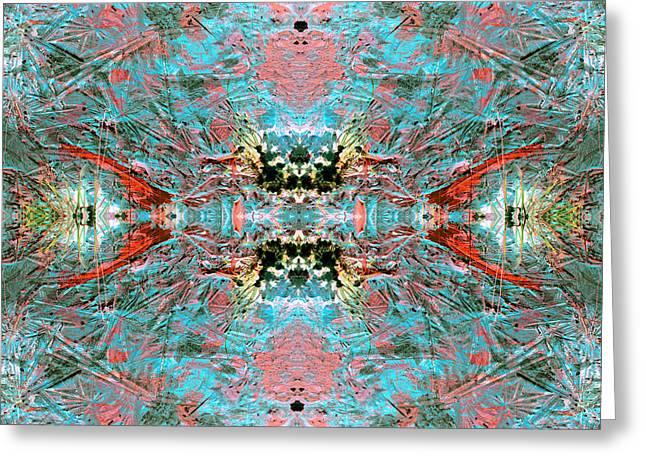 Crystallizing Energy Greeting Card