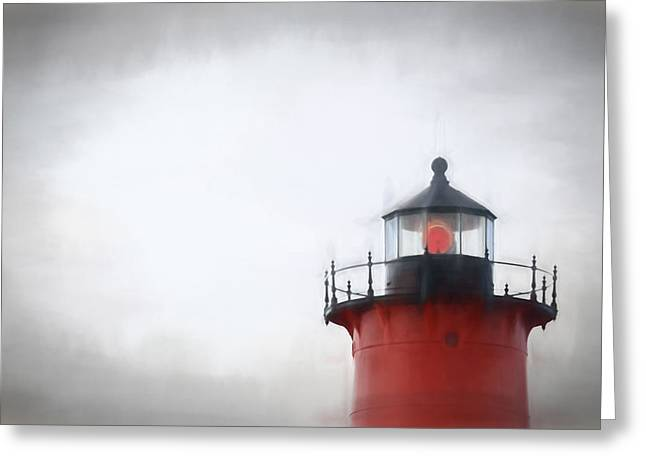 Nauset Lantern And Catwalk Greeting Card