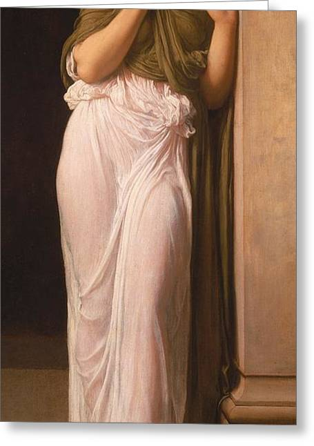 Nausicaa Greeting Card by Frederic Leighton