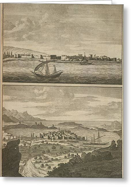 Nautical Scenes Greeting Card by British Library