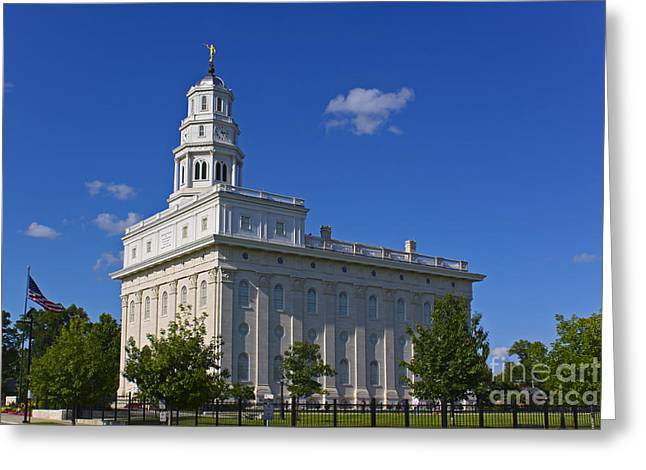 Nauvoo Temple Greeting Card