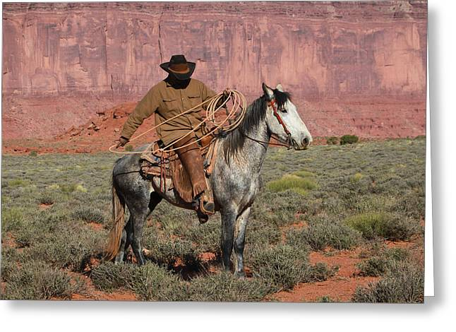 Navajo Cowboy Greeting Card