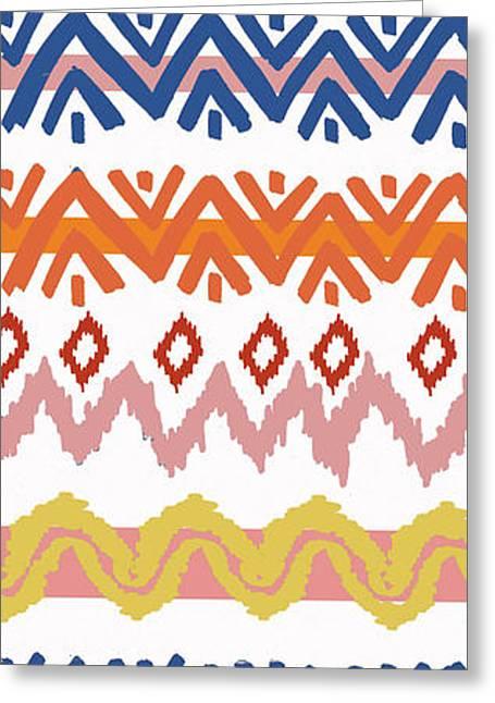 Southwest Pattern IIi Greeting Card