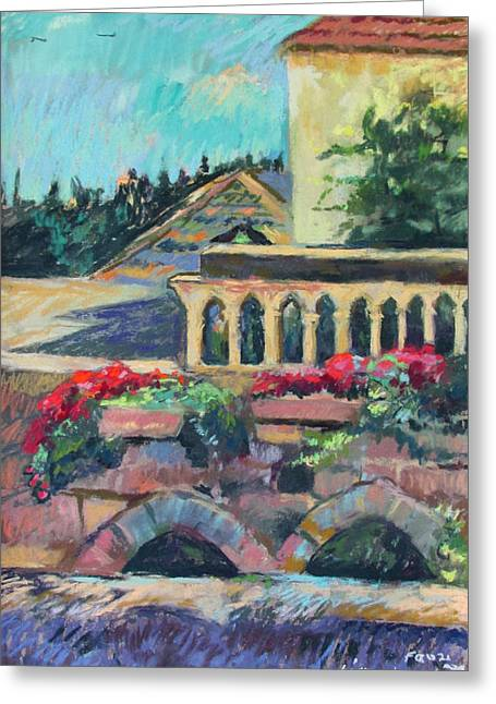 Nazareth Rooftops Greeting Card