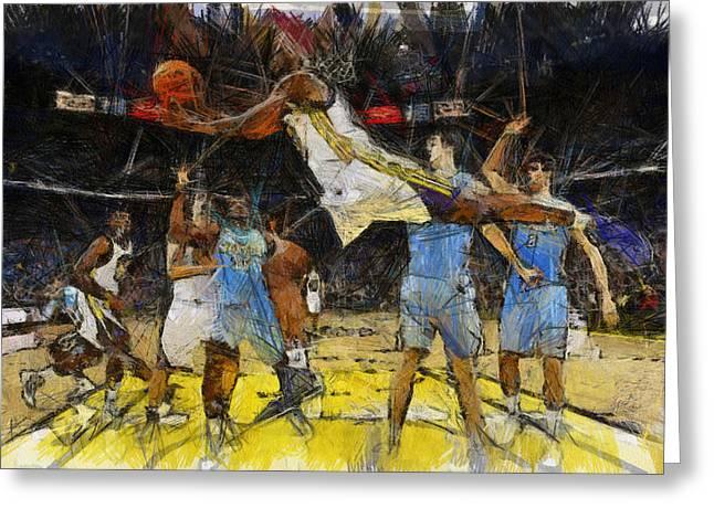 NBA Greeting Card