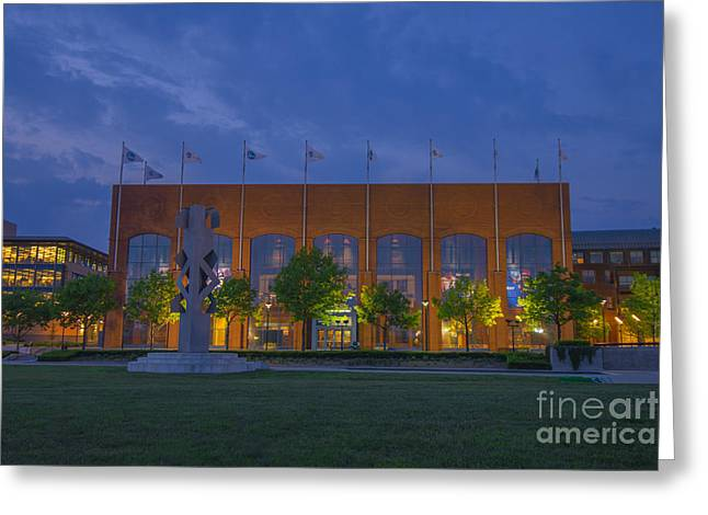 Ncaa Hall Of Champions May 2013 Greeting Card by David Haskett