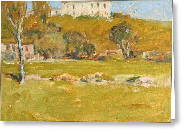 Near Sienna Greeting Card by Owen Hunt