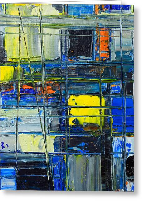 Near The Sunrise - Abstract Original Painting - Abwgc1 Greeting Card